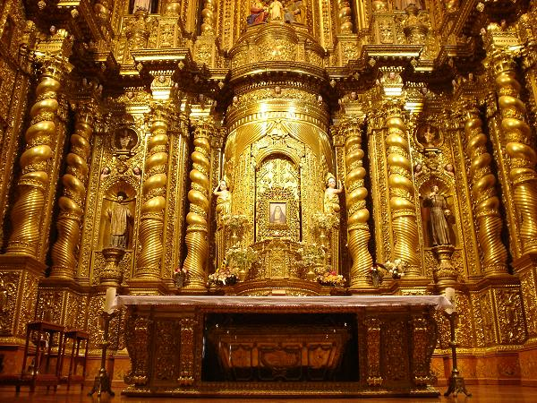 La Iglesia De La Compañía Una Joya Del Arte Barroco En: Reina De España Llegó A Ecuador Para Visitar Proyectos