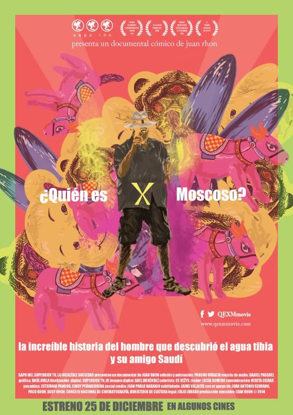 Afiche de X Moscoso