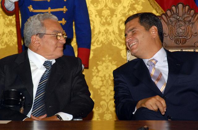 Imagen tomada de la cuenta de flickr de la presidencia de Ecuador