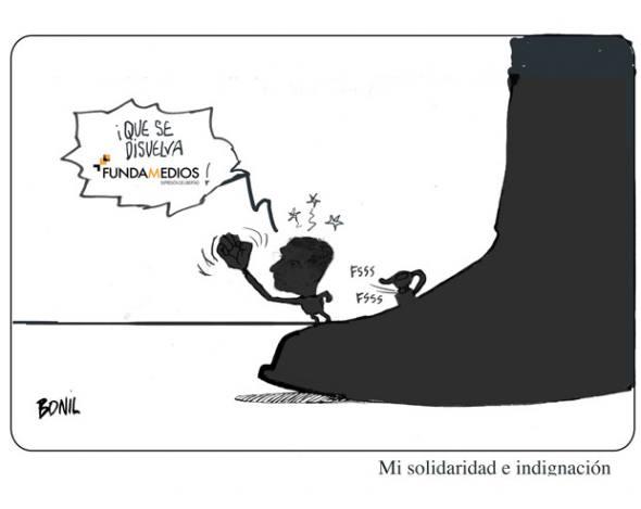 Caricatura de Bonil, publicada en El Universo el 10 de septiembre de 2015